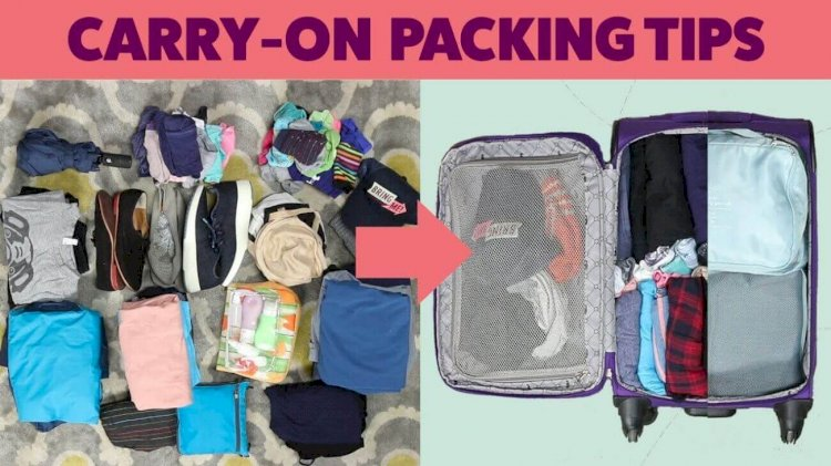 How to Pack a Carry-On Luggage for a Week Vacation