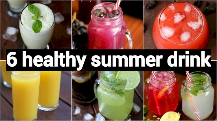 7 Cool Drinks To Enjoy On a Hot Summer Day